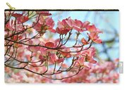 Dogwood Tree Landscape Pink Dogwood Flowers Art Carry-all Pouch