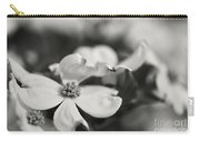 Dogwoods In Black And White Carry-all Pouch