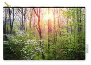 Dogwoods In The Forest Carry-all Pouch