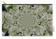 Doily Of Flowers Carry-all Pouch