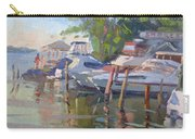 Docks At The Shores  Carry-all Pouch