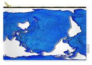 Dolphin World Map Carry-all Pouch