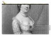 Dolley Madison (1768-1849) Carry-all Pouch by Granger