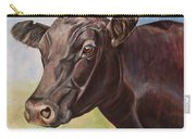 Dolly The Angus Cow Carry-all Pouch