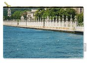Dolmabahce Palace Tower And Fence Carry-all Pouch