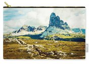 Dolomites, Monte Piana, Italy Carry-all Pouch
