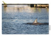 Dolphin By The Dock Carry-all Pouch