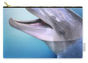 Dolphin In The Moonlight Carry-all Pouch