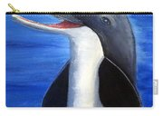 Dolphin Laughing Carry-all Pouch