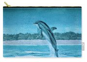 Dolphin Mural Carry-all Pouch