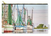 Dolphin Tail - Docked Shrimp Boats Carry-all Pouch