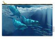 Dolphin World Carry-all Pouch by Corey Ford