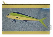 Dolphinfish Inlay On Alabama Welcome Center Floor Carry-all Pouch