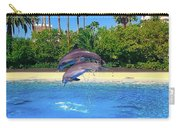 Dolphins Dance Carry-all Pouch
