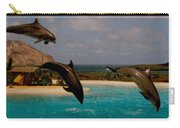 Dolphins Fly Carry-all Pouch