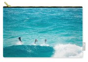 Dolphins Jumping Carry-all Pouch