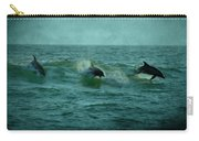 Dolphins Carry-all Pouch by Sandy Keeton