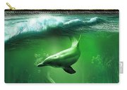 Dolphins Carry-all Pouch by Svetlana Sewell