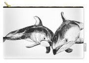 Dolphins Togeter Carry-all Pouch