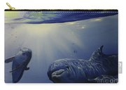 Dolphins Underwater Game Carry-all Pouch