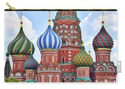 Domes Of St. Basil Carry-all Pouch