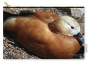 Domestic Mandarin Duck Close Up Carry-all Pouch