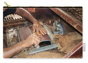 Dominican Cigars Made By Hand Carry-all Pouch by Heather Kirk