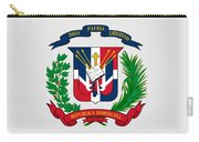 Dominican Republic Coat Of Arms Carry-all Pouch
