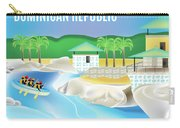 Dominican Republic Horizontal Scene Carry-all Pouch