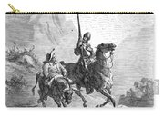 Don Quixote And Sancho Carry-all Pouch by Granger
