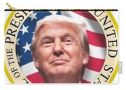 Donald Trump Us President United States Seal  Carry-all Pouch