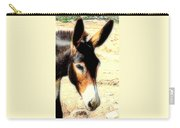 A Donkey Doesn't Need A Rider To Be Happy   Carry-all Pouch