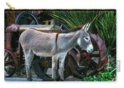 Donkey And Old Tractor Carry-all Pouch