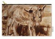 Donkey Daze Carry-all Pouch