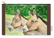 Donkey Duo Carry-all Pouch