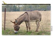 Donkey Finds Greener Grass Carry-all Pouch