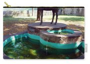 Donkey Fountain Carry-all Pouch
