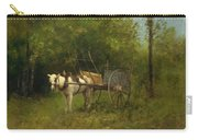 Donkey With Cart Carry-all Pouch