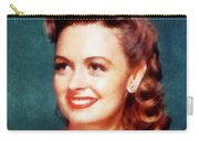 Donna Reed By John Springfield Carry-all Pouch