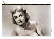 Donna Reed, Vintage Actress By John Springfield Carry-all Pouch