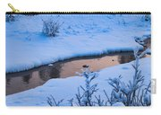 Donnelly Creek In Winter Carry-all Pouch