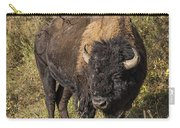 Don't Mess With This Bison Carry-all Pouch