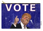 Don't Vote For Hate Campaign Poster Carry-all Pouch
