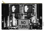 Don't Walk At Times Square Carry-all Pouch