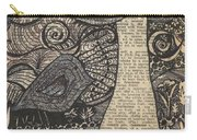 Doodle Bird Carry-all Pouch