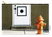 Door And Orange Hydrant  Carry-all Pouch