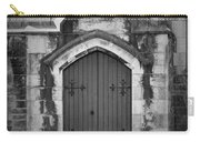 Door At St. Johns In Tralee Ireland Carry-all Pouch