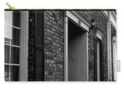 Doorway Black And White Carry-all Pouch