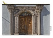 Doorway Of The Santa Teresa De Jesus Church Carry-all Pouch