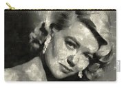 Dorothy Malone Vintage Hollywood Actress Carry-all Pouch